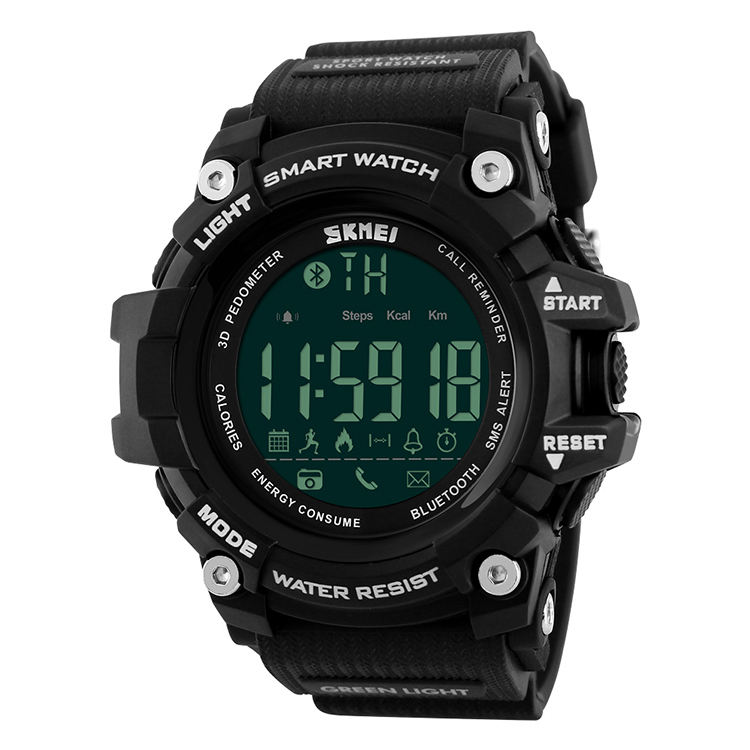 SKMEI 1227 Waterproof Custom LOGO Digital Sports Smart Watch