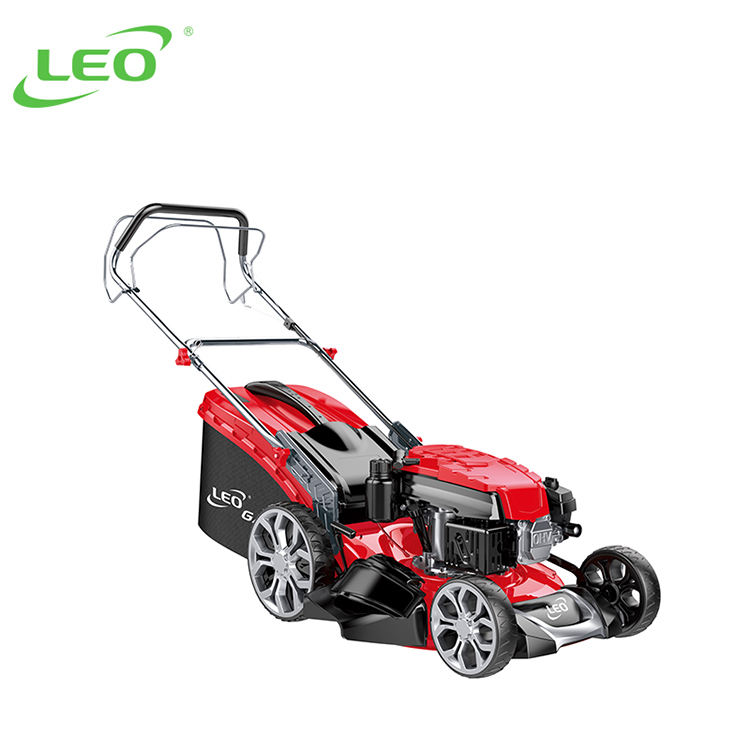 LEO LM46Z-2L Commercial 3in1 Gasoline Lawn mower Self Propelled Lawn Mower
