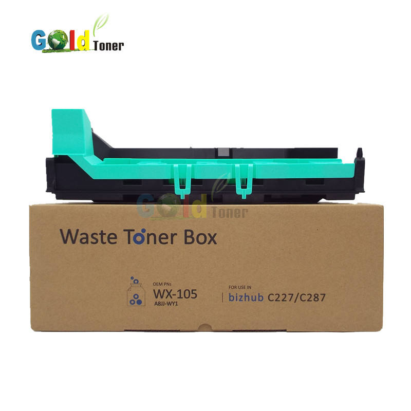 Factory directly sale WX 105 Waste Toner Box for bizhub C227 C287 for Konica Minolta