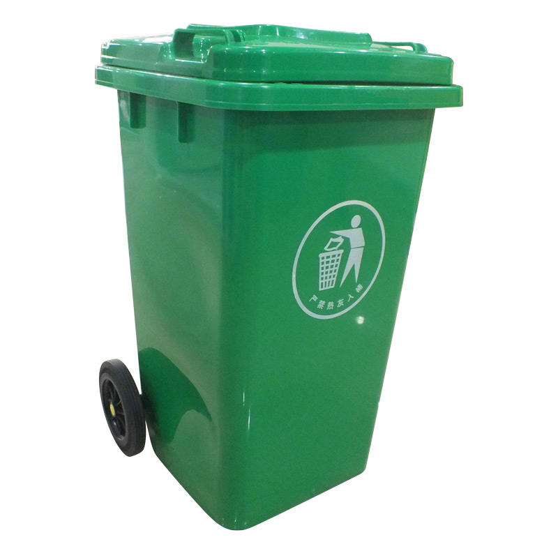 240 L size of dustbin 240 liter plastic dustbin suppliers