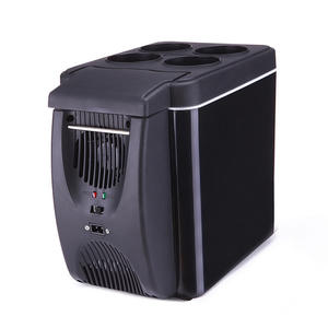 Outdoor in-vehicle Fridges 12V Car Travel Portable mini Fridge Freezer Cooler and Warmer small refrigerator