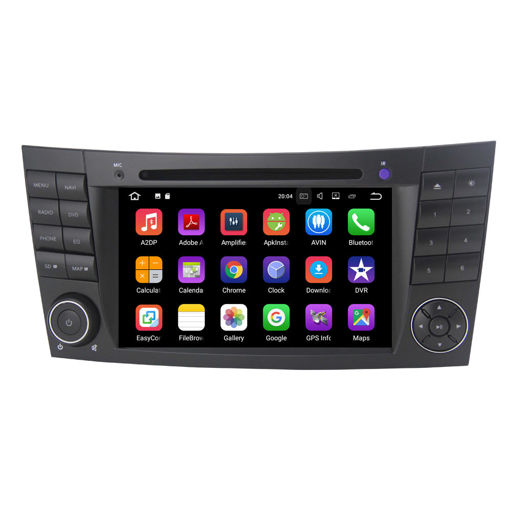Android phát thanh 9.0 cho xe Mercedes Benz W211 W219 E200 E220 W209 W463 stereo máy nghe nhạc Stereo