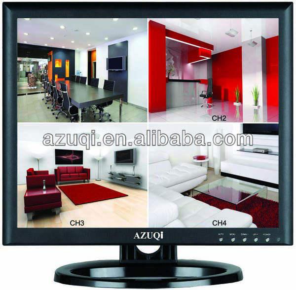 """Профессиональный цветной монитор LCD 17"""""""