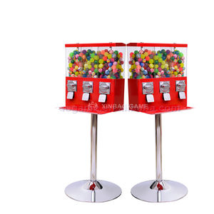 3 in 1 China Candy Vending Machine Dispenser Candy Toy Gumball Machines