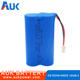 POS Machine 18650 7.4v 2600mah Rechargeable Lithium Battery Pack
