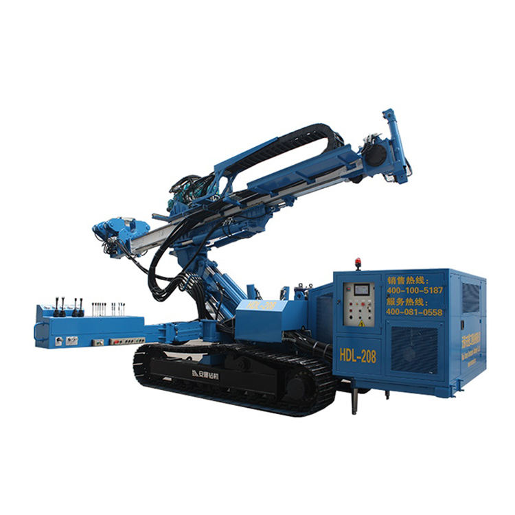 HDL-208 EuroDrill original Hydraulic drifter Diesel foundation drilling machine