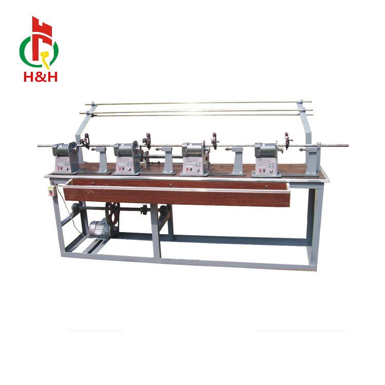 semiautomatic yarn winding machine