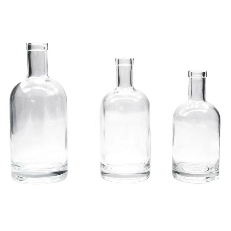 200ml/375ml/500ml/700ml/750ml/1000ml engraved vodka glass bottle_whiskey bottles_rum bottle with cap