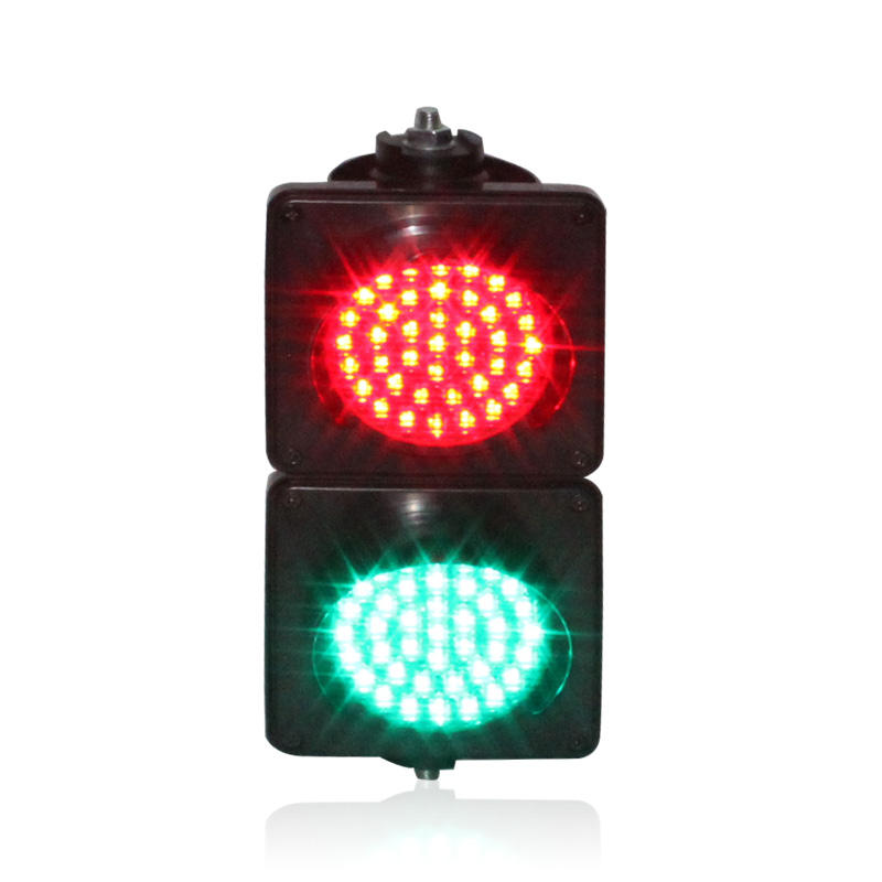 10 years factory wholesale price colored lens 100mm red green led traffic light
