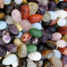 (Drilled or Undrilled) wholesale natural kegel jade eggs many gemstone yoni eggs