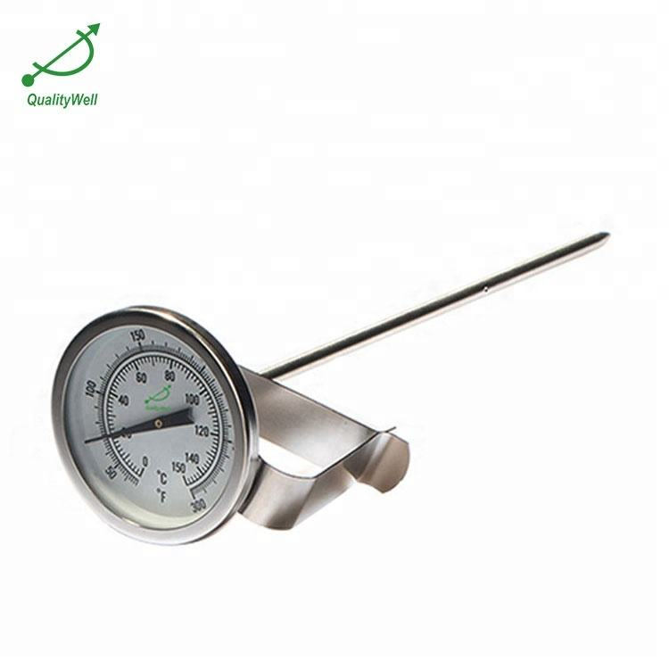 BBQ /cooking /food /beverage/milk/meat bimetal thermometer