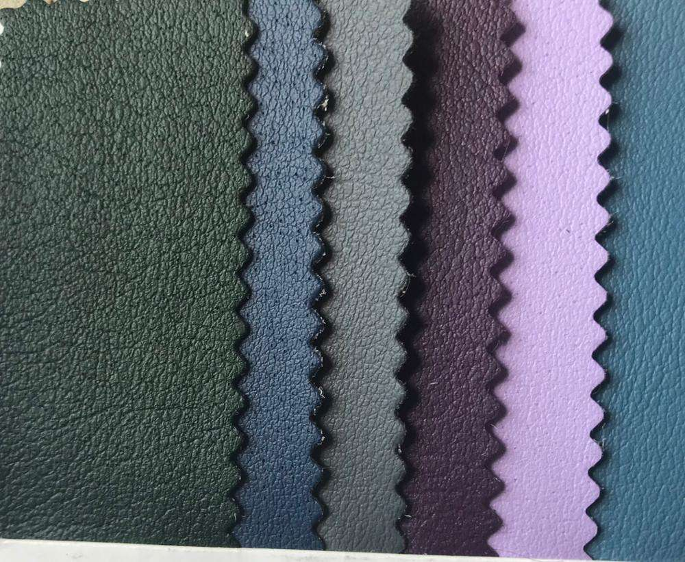 2019 fashion microfiber leather for shoes bags