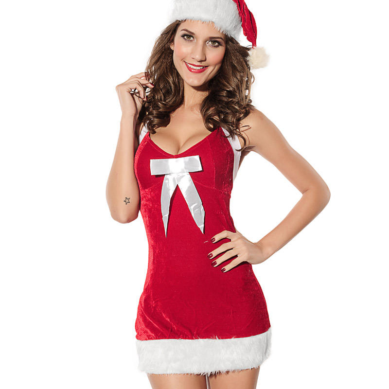 Mrs claus costume, sexy santa costume, womens claus costume