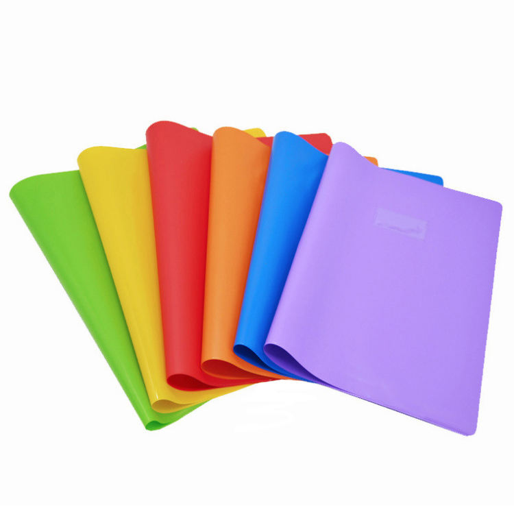 Eco-friendly factory price full printing pvc plastic book cover a6