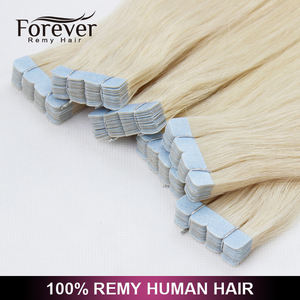 Direct Factory Wholesale New Trendy Products Wholesale remy human Hair extensions tape in