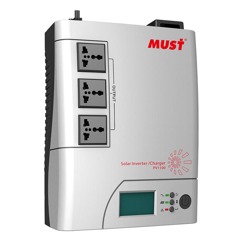 MUST PV1100 PLUS Solar & Utility Input at the Same Time Intelligent Solar Inverter Off Grid 720w 1440w