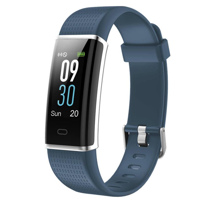 ID111HR Kalp Hı<span class=keywords><strong>z</strong></span>ı ile Bluetooth Akıllı Izle Bilek Bandı Uyku Monitör Android IOS için Sağlık Pedometre