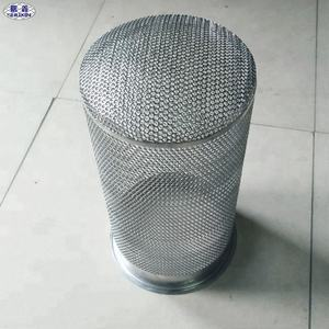China Producten Rvs Mesh Screen Filter Geperforeerde Pijp
