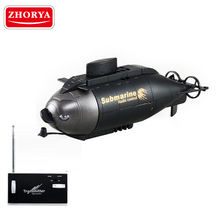 Zhorya 6 channel toy underwater mini rc submarine for sale