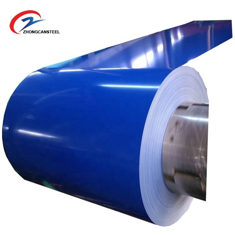 Cold rolled steel coils / PPGI prepainted steel sheet / zinc aluminium roofing coils from shandong jackyzhong