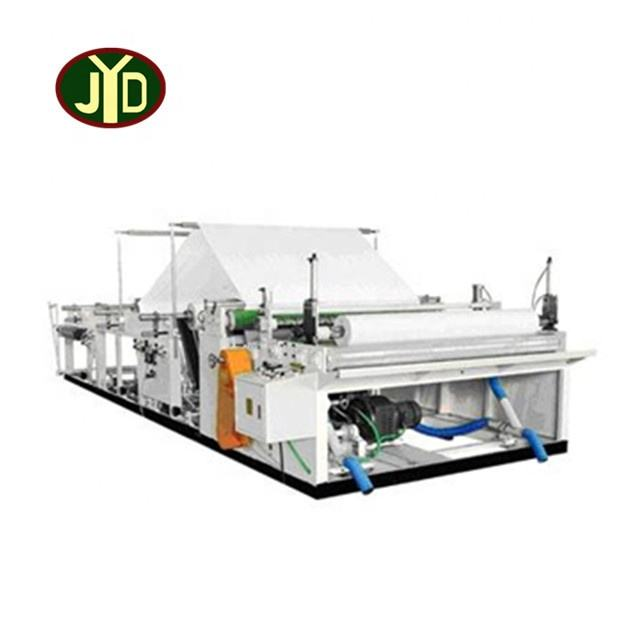 JYD New Condition Embossing Rewinding And Perforating Toiet Paper Machine Slitter Rewinder Machine Paper Roll
