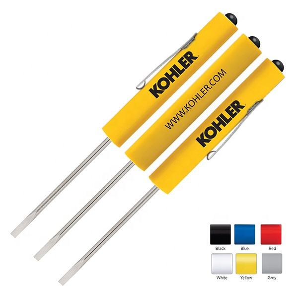 Promotional Hardware & Tools,Promotional Screwdrivers,Screwdriver - Phillips Head Pocket Screwdriver