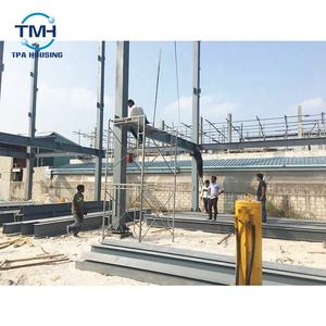 Maldives metal construction frame steel structure godown design
