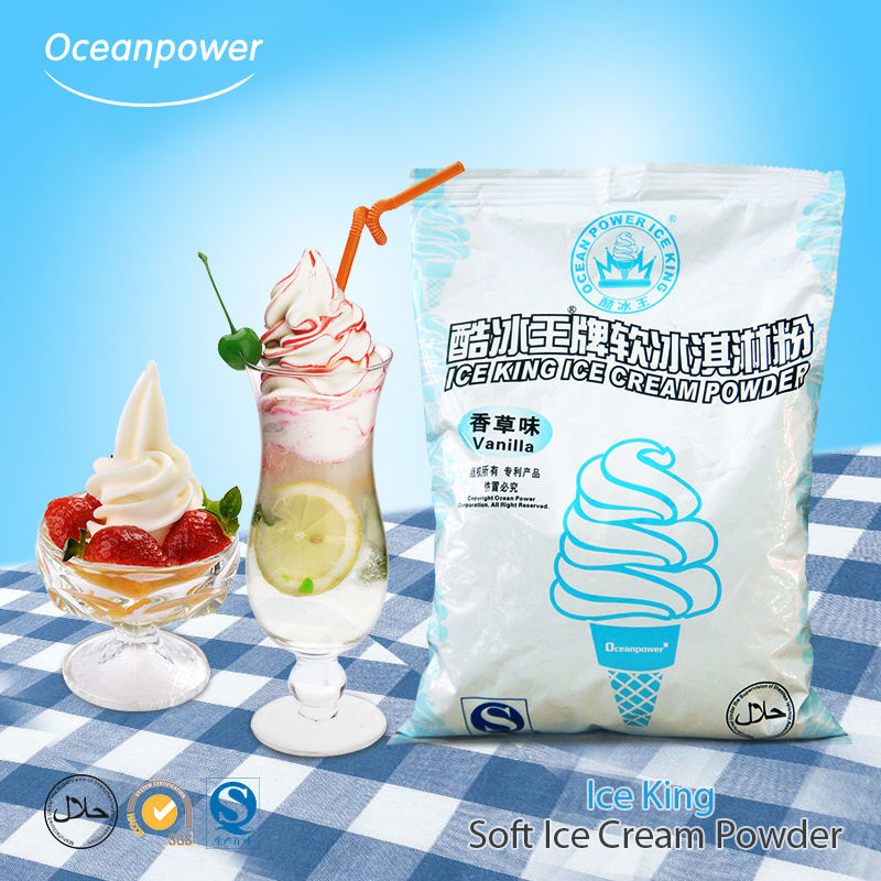 Oceanpower Ice King Soft serve ice cream mix in polvere
