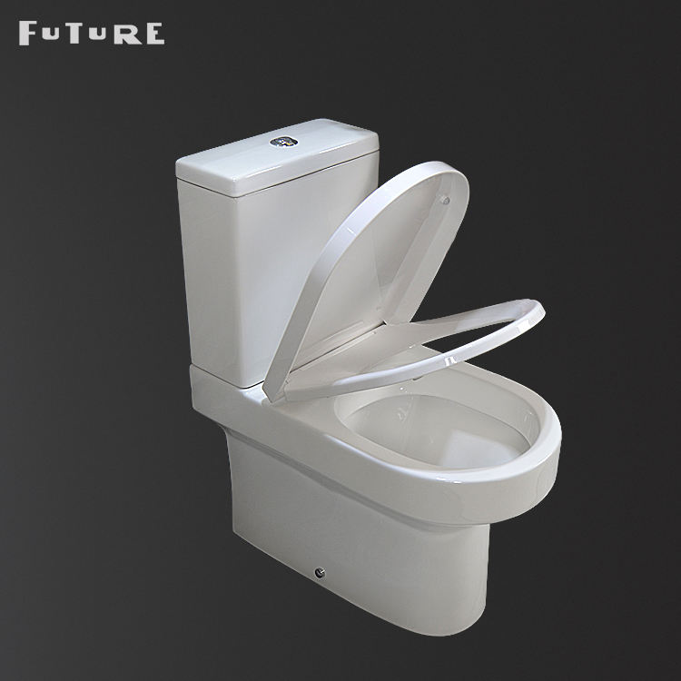 Floor Mounted [ Suite ] Toilet Suite Ceramic Bathroom Wash Down Toilet And Pedestal Basin Suite