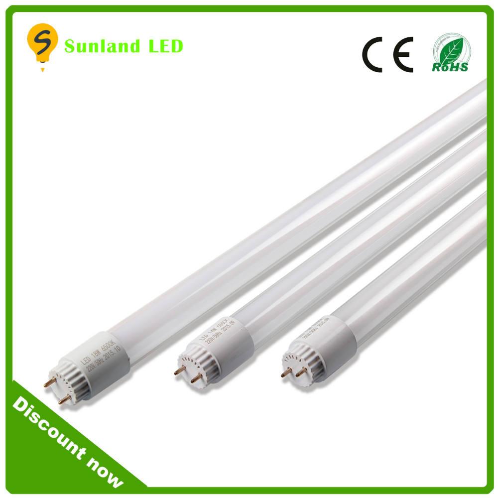 밝기 에너지 절약 ce rohs 규제는 통과 1,200밀리미터 T8 LED tube18w 주도 튜브