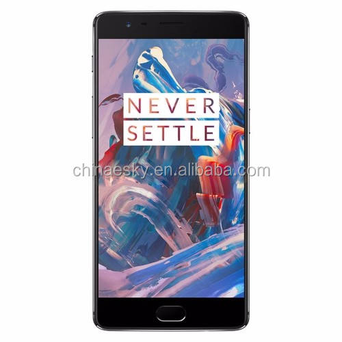 Nieuwste 5.5 inch OnePlus 3 T Snapdragon 820 64 GB 128 GB 2.5D Arc Android 6.0 Qualcomm Quad Core RAM: 6 GB 4g LTE mobiele telefoon