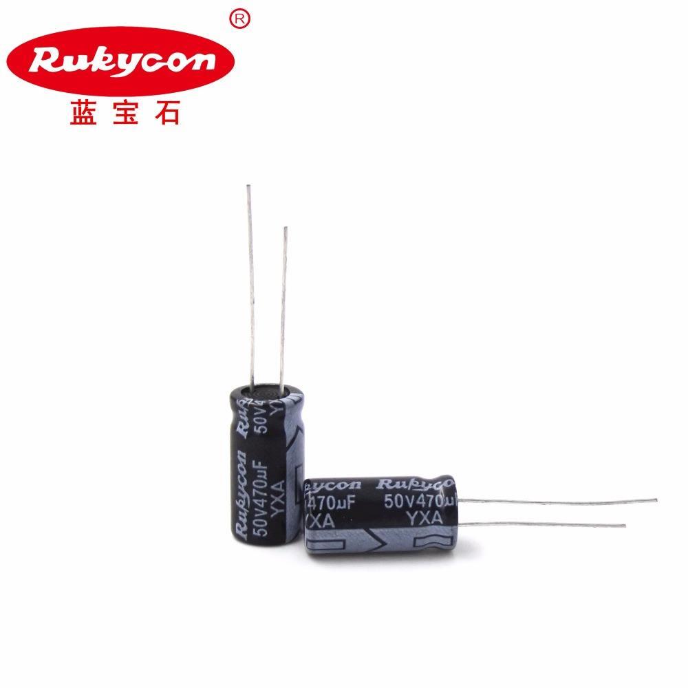 220uf 50v radiale Condensatore UVX serie Nichicon di alta qualità 3 per la vendita.