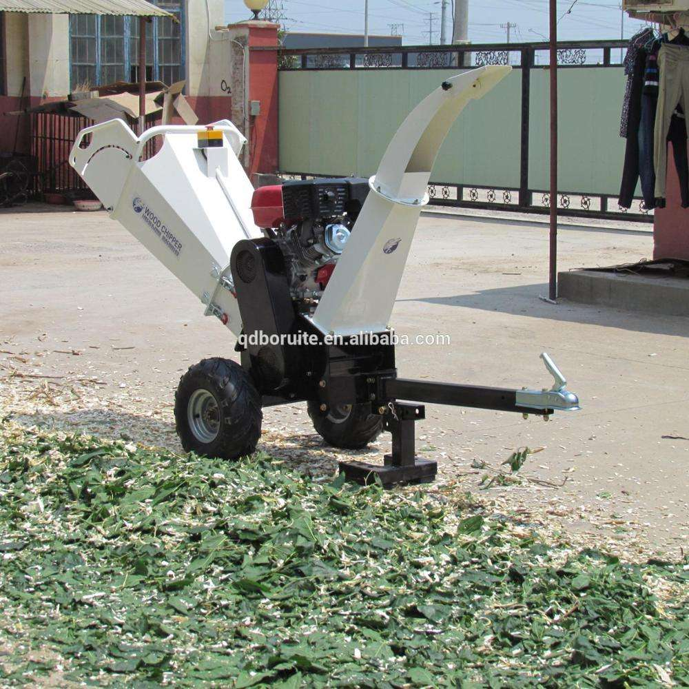 Best selling 6.5/13/15HP wood chipper and shredder