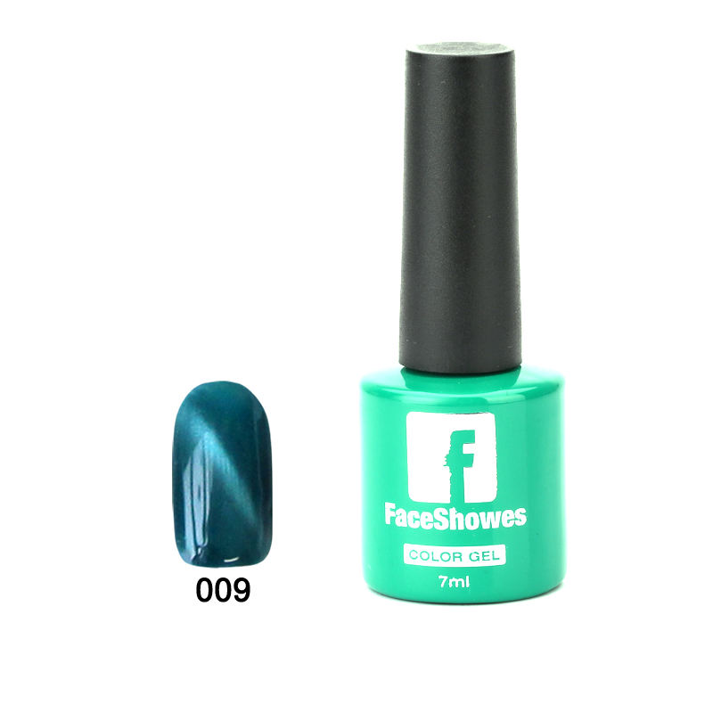 Faceshowes Gel Polonais 3D Chat Yeux gel À Ongles UV Vernis Tremper Durable LED Gel Vernis À Ongles