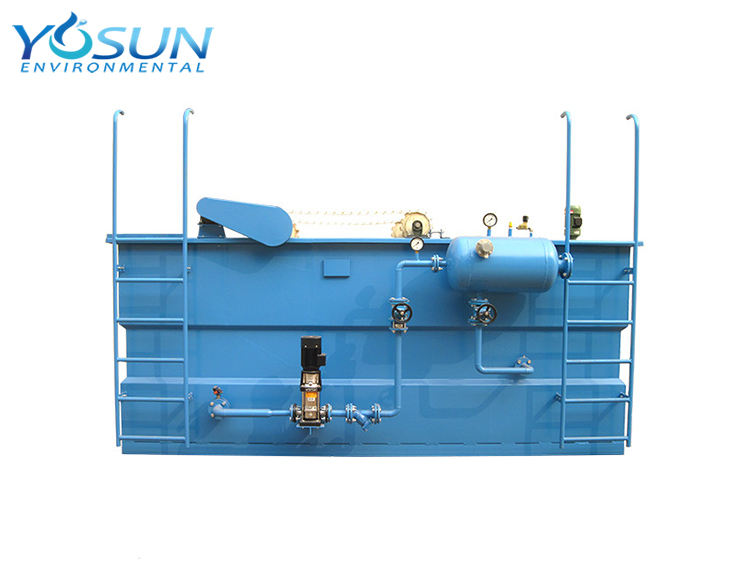 Slaughtering house sewage treatment dissolved air flotation machine