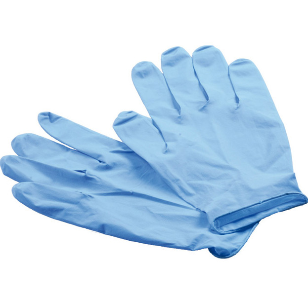 Direct factory powder free nitrile examination gloves