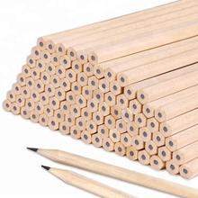 Standard Eco Friendly Promotional HB Raw Wood Wooden Pencils