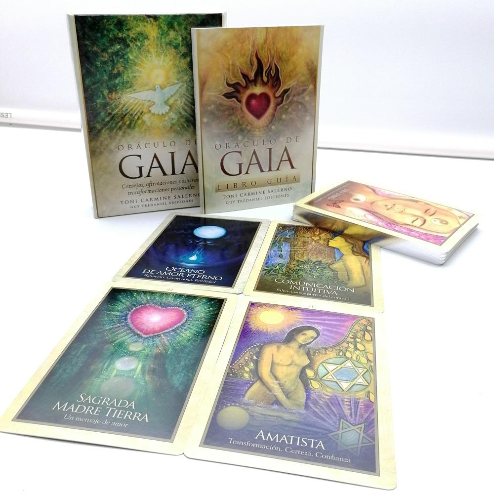 Oraculos Full Color Custom Printing Tarot Cards With Instruction Book
