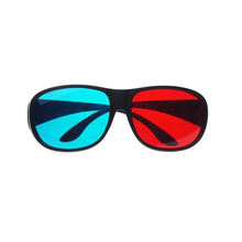 Cheap hot sale unisex home movie video good price bulk buy red blue 3d glasses
