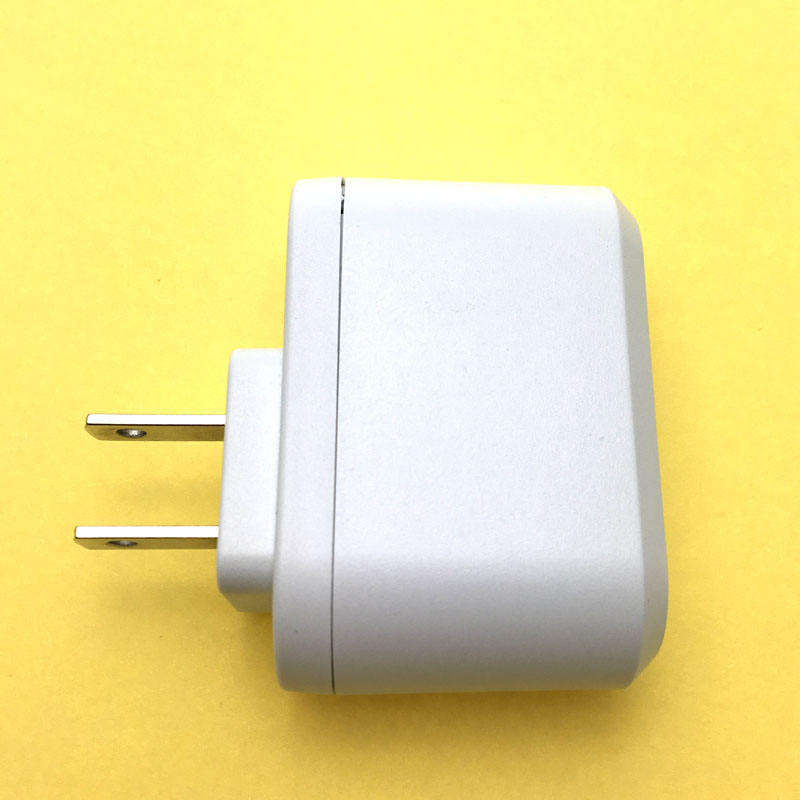 Warna Putih 110-240vac 13 V DC Adaptor 13v0. 5A USB Power Supply dengan US Plug