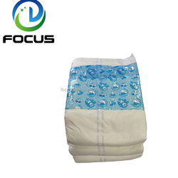 Customized European Medicare Wholesale Cheap Disposable Printed Adult Diaper
