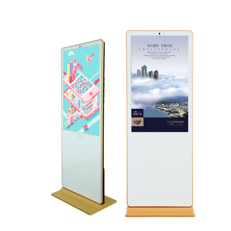 50 inch stands for malls vertical standing dvd player multi touch screen kiosk