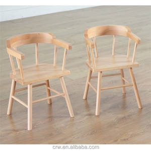 RCH-4114 Small Wooden Captains Chairs For Children