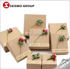 New Idea Hard Kraft Paper Boxes for Jewellery