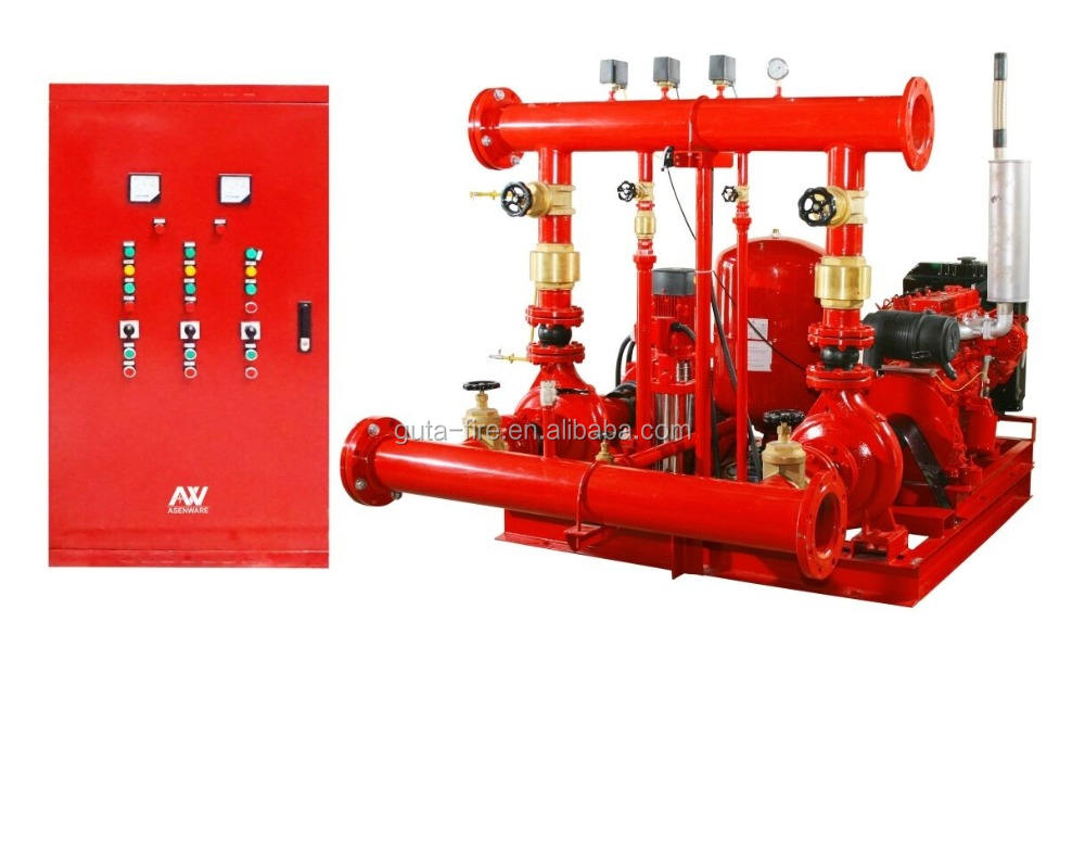 Effective Operate Fire Water Pump