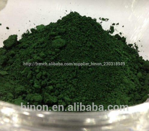Tache, tache de couleur, pigments de couleur, émail céramique tache, oxyde de <span class=keywords><strong>chrome</strong></span> vert, pigment vert pour la céramique
