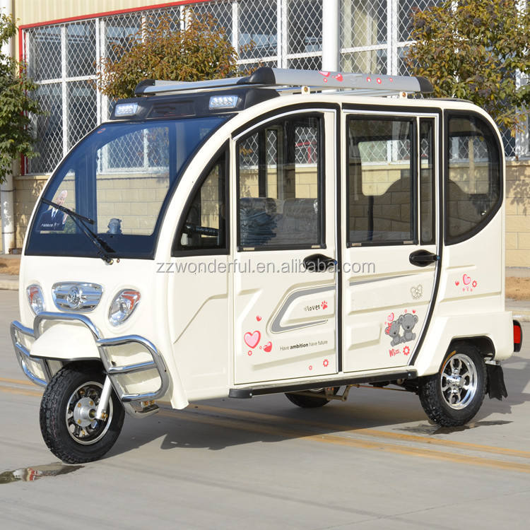 Factory Price Electric Passenger Tricycle for Adult Solar Electric Tricycle