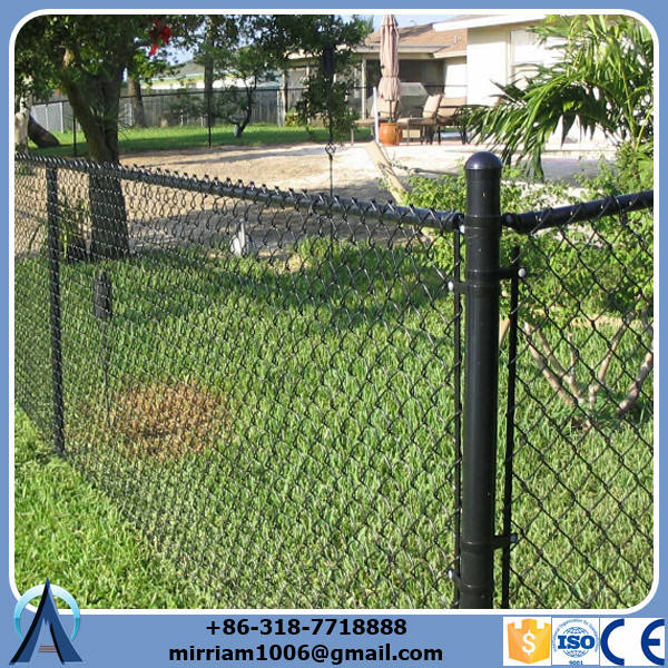 6ft used square wire mesh chain link fence