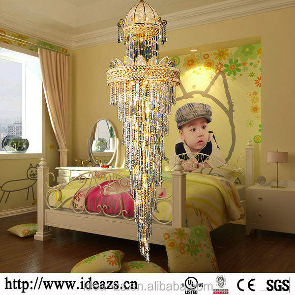 C9160 chandelier jhumka earrings ,chandelier metal arm ,low voltage crystal ceiling lamp