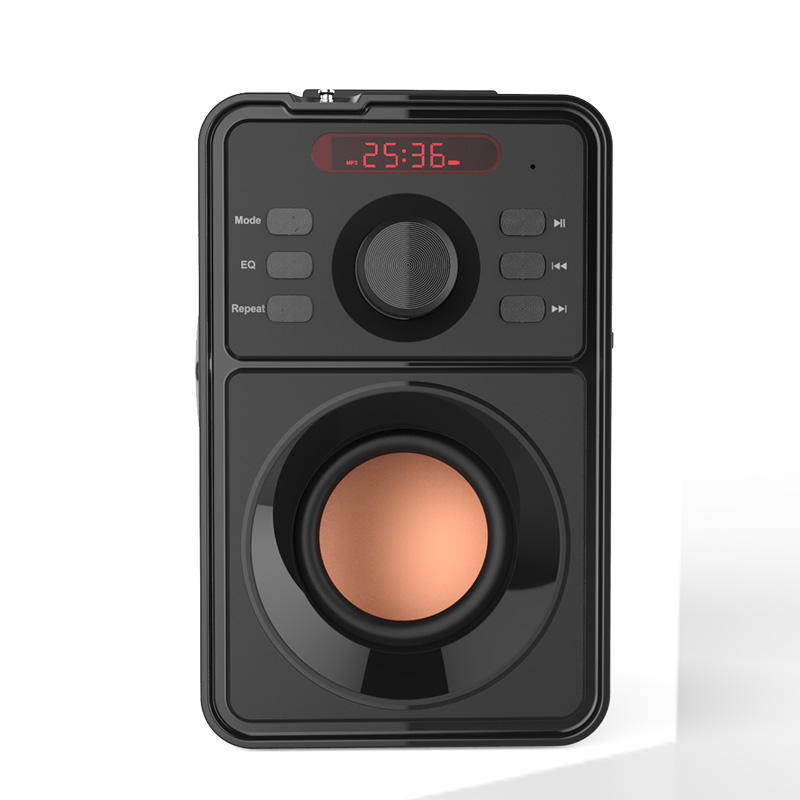 Easiny mp09C 2.1Subwoofer outdoor promotion meeting dancing party building battery MP3 player FM radio wireless portable speaker